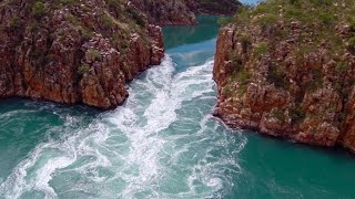The WILDEST boating scene you'll ever see (Horizontal Falls - The Kimberley, WA)