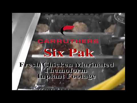 Six Pak Thermoform Chicken Fresh Marinated Inplant