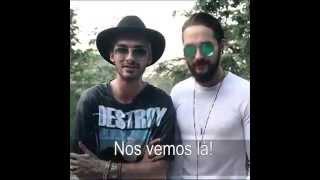 Bill & Tom Kaulitz video message for the Brazilian fans