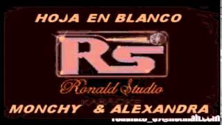 Original   Monchy & Alexandra   Hoja En Blanco   Karaoke