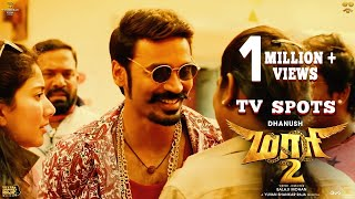 Maari 2 - TV Spots (Movie Releasing Tomorrow) | Dhanush | Balaji Mohan | Yuvan Shankar Raja