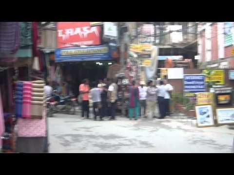 カトマンズのタメルエリア – Thamel, Kathmandu Nepal