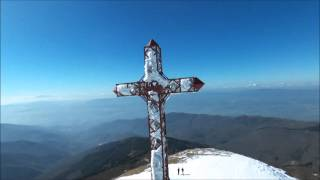 Caduta neve dalla Croce