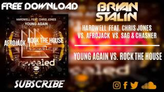 Young Again vs. Rock The House (Hardwell 2016 Mashup)