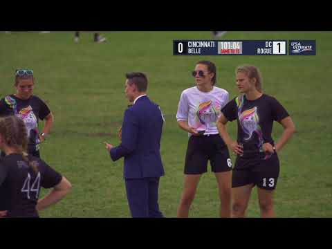 Video Thumbnail: 2018 U.S. Open Club Championships, YCC U-20 Girls' Quarterfinal: Cincinnati Belle vs. Washington D.C. Rogue