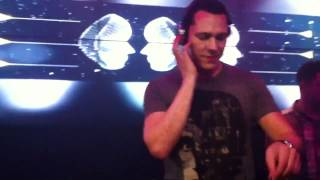 """Tiesto - """"Fun. - We Are Young (Alvin Risk Remix) """" Live @ Studio Paris Chicago, IL 5-4-12"""