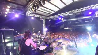 """MEGADETH - Dirk Verbeuren drumcam - """"Poison Was The Cure"""" live in Bologna, 2016"""