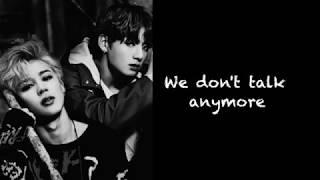 BTS - JK & JM - We don't talk anymore pt. 2