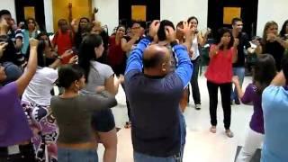 dança circular KUMBALAUÊ - Revolução Unimonte