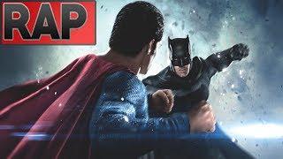 Rap do Batman vs Superman - ( A Origem da Justiça ) Batalha de Rap