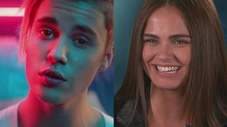 Justin Bieber's 'What Do You Mean?' Model On Licking His Abs & Those Dating Rumors