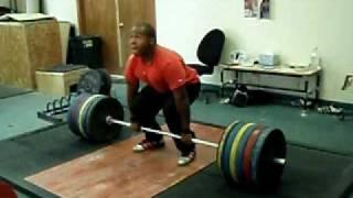 551 lb (250kg) Deadlift  @ 90 kg