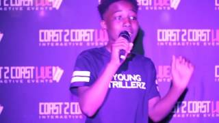 Young Trillerz (@4EVA RECORDS) Performs at Coast 2 Coast LIVE   ATL All Ages Edition 2/26/17