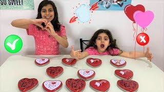 Don't Choose the Wrong Mystery Box Valentines Slime Challenge!