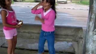 Bianca dançando em Marudá
