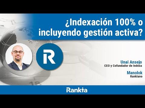 En este interesante debate sobre la gestión indexada, Manolok (inversor y Rankiano de hace casi 10 años) y Unai Ansejo (CEO y Cofundador de Indexa), dan su opinión sobre si realmente merece la pena indexarse. 👉 Promoción por ser de Rankia: https://bit.ly/2YIxlUn