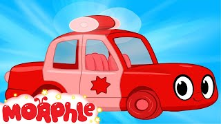 My Magic Police Car Morphle - My Magic Pet Morphle Episode For Kids
