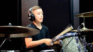 Wright Drum School - Bailey Ramsay - The Script - Before The Worst - Drum Cover
