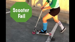 Scooter Fail - Now 2 Leg Casts!