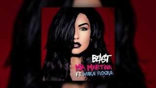 Mia Martina feat. Waka Flocka - Beast (Cover Art)