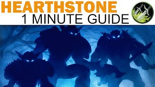 Hearthstone - 1 Minute Guide - Gang Up Mill Rogue (Blackrock Mountain)