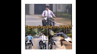 Types of people on BULLET