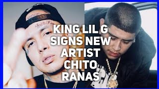 King lil G Signs New Artist Chito Ranas