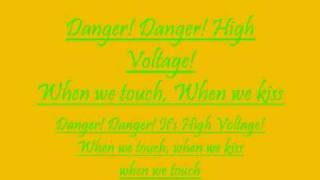 danger high voltage lyrics