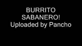 Cepillin - Burrito Sabanero