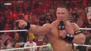 John Cena & The Rock vs  The Miz & R Truth At WWE Survivor Series 2011