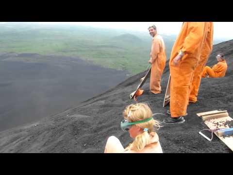 Volcano Boarding – Nicaragua