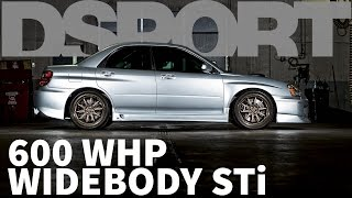 600 WHP Widebody STi | DSPORT Feature Car