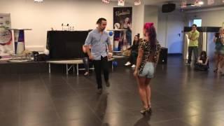 Parte 2 workshop 100% kizomba Ana Oliveira e Paulo Samurai