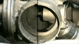 Curatarea valvei EGR cu ajutorul Liqui Moly  Pro Line Diesel Sistem Cleaner