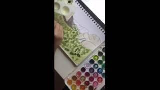 ** speed painting yosemite **
