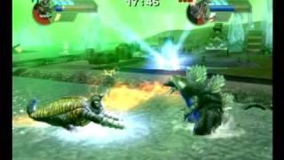Godzilla: Unleashed - Megalon vs Space Godzilla