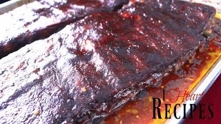 BEST Southern Style Oven Baked BBQ Ribs - Soul Food Recipes - I Heart Recipes