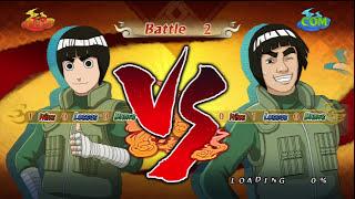Naruto Ninja Storm 2 - Rock Lee VS Guy