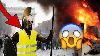 BEST OF CRS GILETS JAUNE ! BAGARRE EXPLOSION CRS INCENDIE !