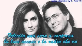 "Albano Carrisi & Romina Power ~"" FELICITA ""  With Lyric's[HD]"