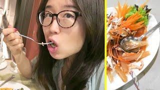 Condom Salad & Blind Massage in Thailand ● Bangkok Travel Vlog