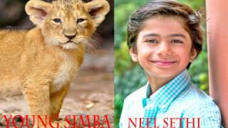 Characters and Voice Actors: Lion King Live-Action Remake