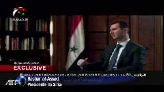 Presidente Sírio acusa ocidente de apoiar Al Qeada