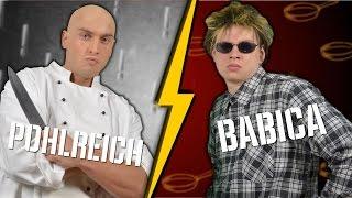 Zdeněk Pohlreich VS Jirka Babica - Český Battle Rap
