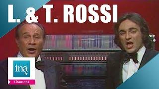 """Tino et Laurent Rossi """"Chantons ensemble la même chanson"""" (live officiel)   Archive INA"""