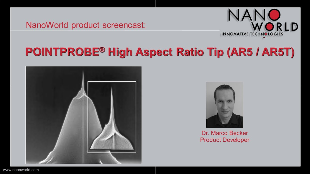 NanoWorld Pointprobe® High Aspect Ratio Tip (AR5 / AR5T)