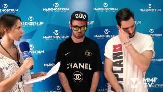 MMF 2015 - Entrevista EVANGELOS & SUBSHOCK
