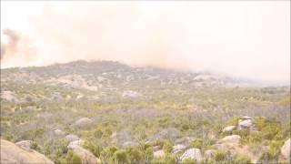 Incendio Sierra de Juárez