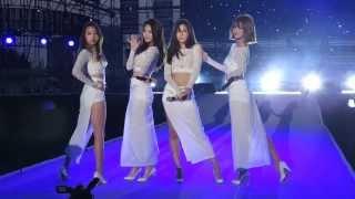 Don't Forget Me (나를 잊지마요) - Girl's Day (걸스데이) Live @ 2014 Korea Speed Festival