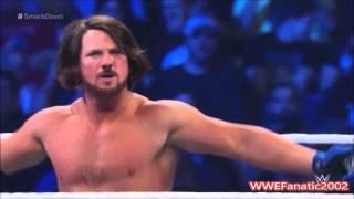 WWE - AJ Styles Custom Titantron - Phenomenal - 2016